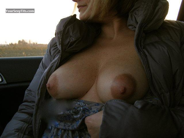 Tit Flash: My Friend's Big Tits - Showme from Italy