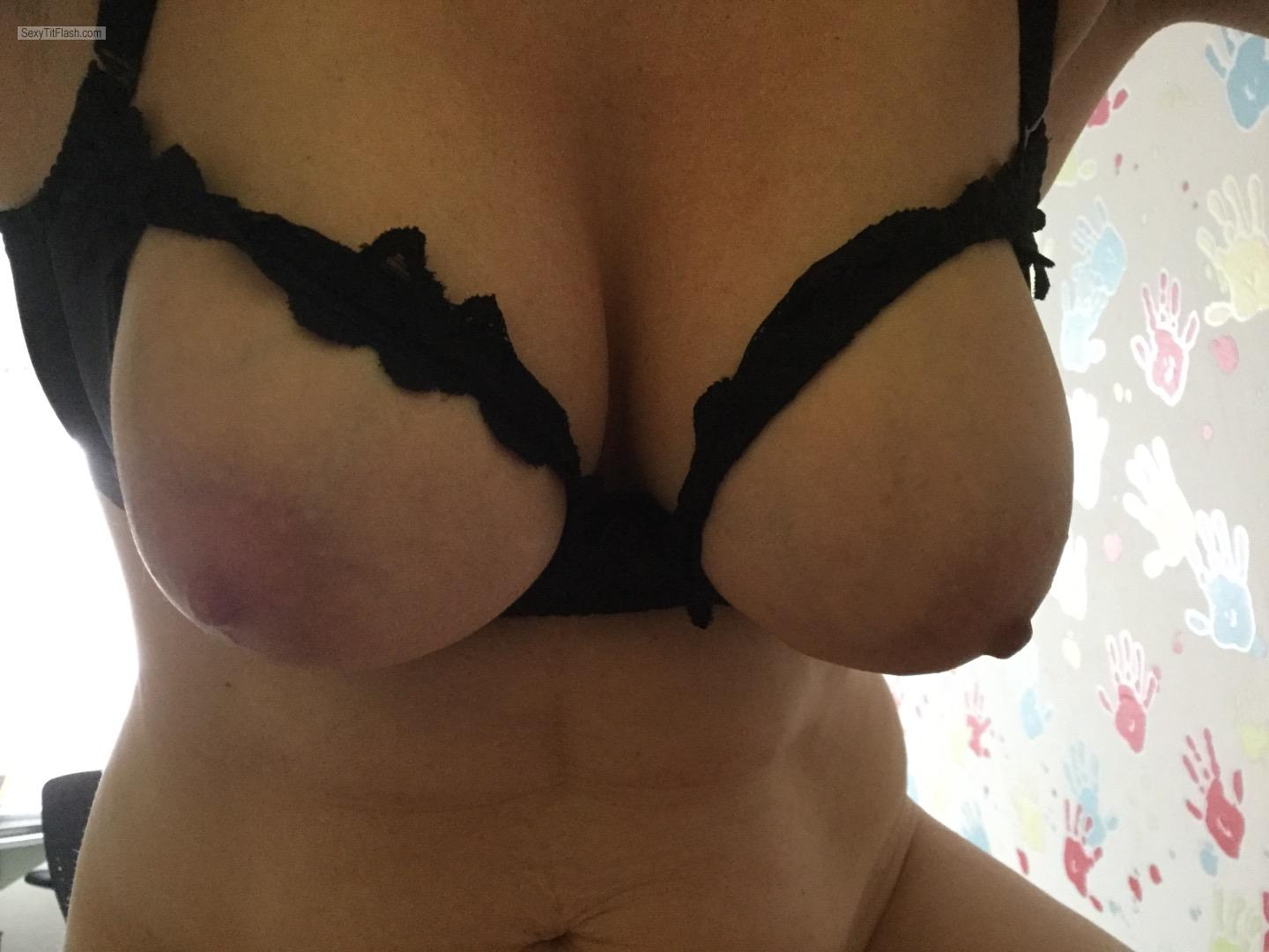 Tit Flash: My Big Tits - Kjsxxx from Germany