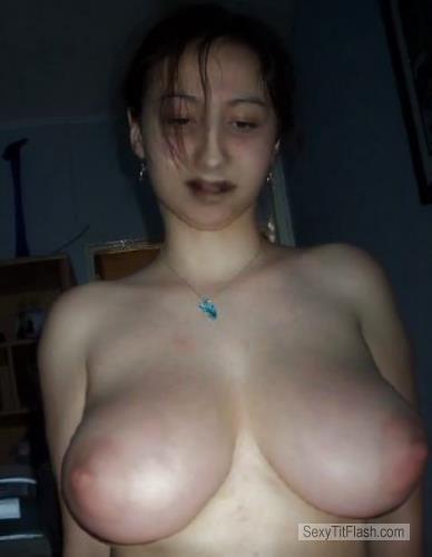 Tit Flash: My Big Tits - Topless Milkers from United States