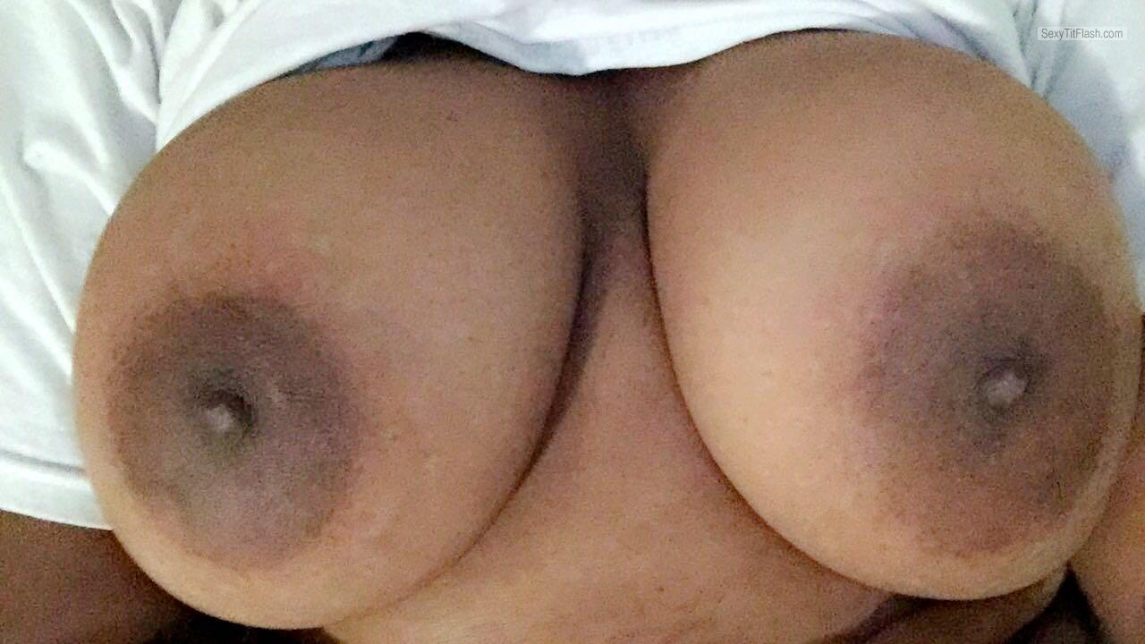 Tit Flash: My Big Tits - Horny_MetalHead from United States