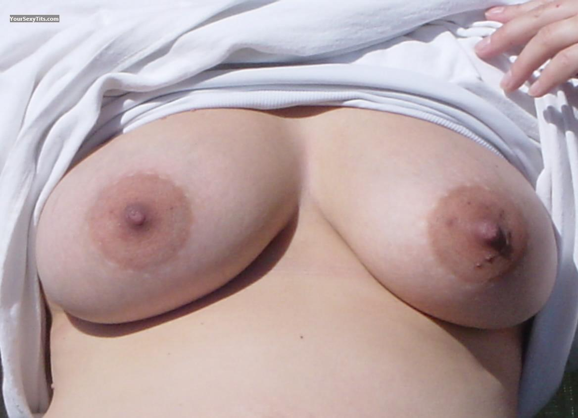 Tit Flash: Big Tits - Macey from United States