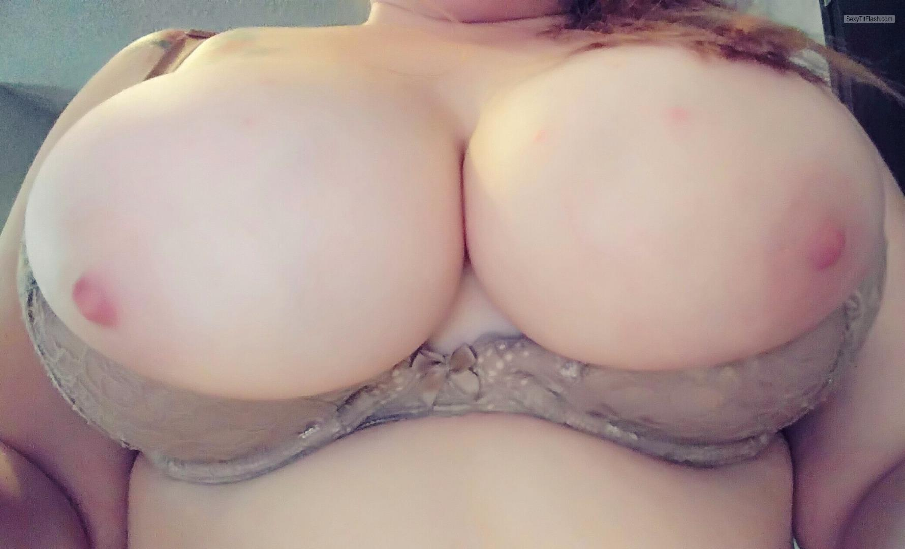 Big Tits Of My Wife Selfie by Hot Melony