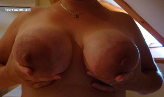 Tit Flash: Wife's Big Tits - Freepo from Belgium