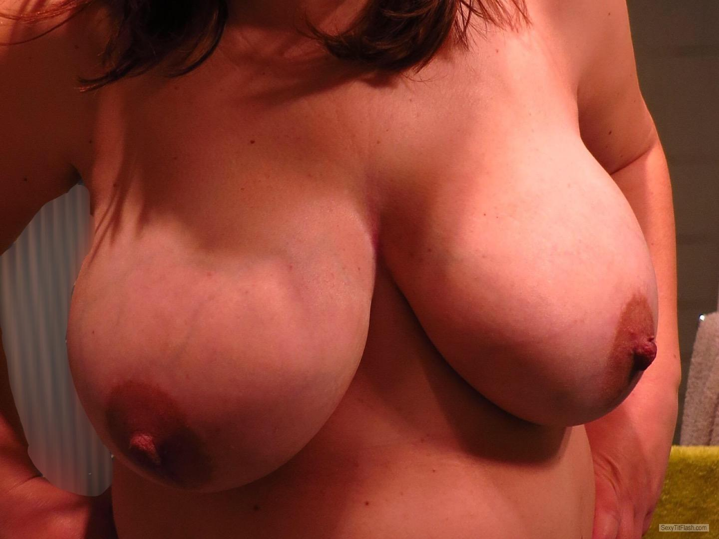 Tit Flash: My Big Tits - Sexcouples from France