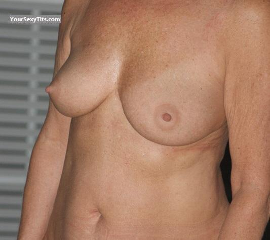 Tit Flash: Big Tits - Shy 60 from United States