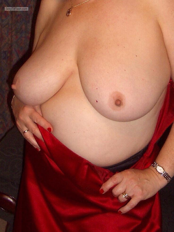 Big Tits Of My Wife Topless Hot Wife