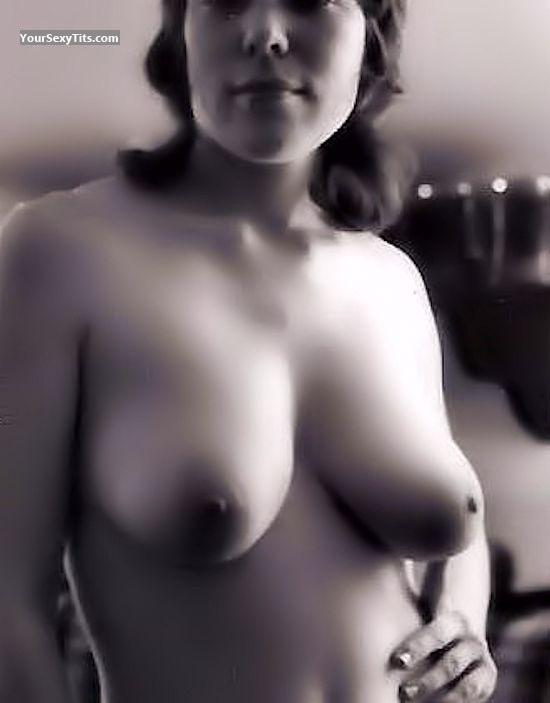 Tit Flash: Wife's Big Tits - Genevieve Ann from United States