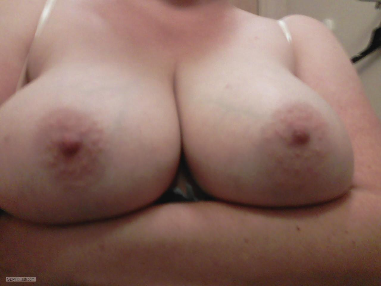 from Jerome my wifes nude breasts