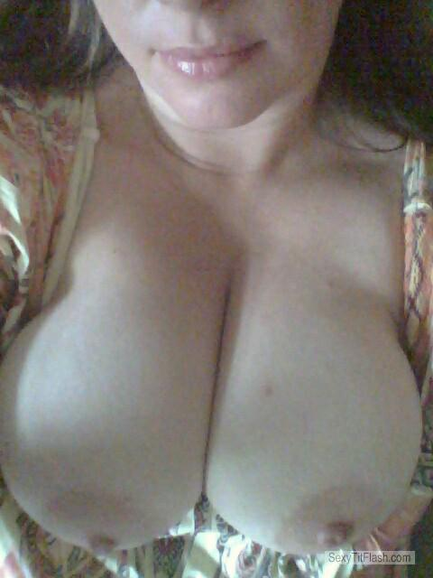 Tit Flash: My Big Tits (Selfie) - Sexy Pretty Girl from United Kingdom