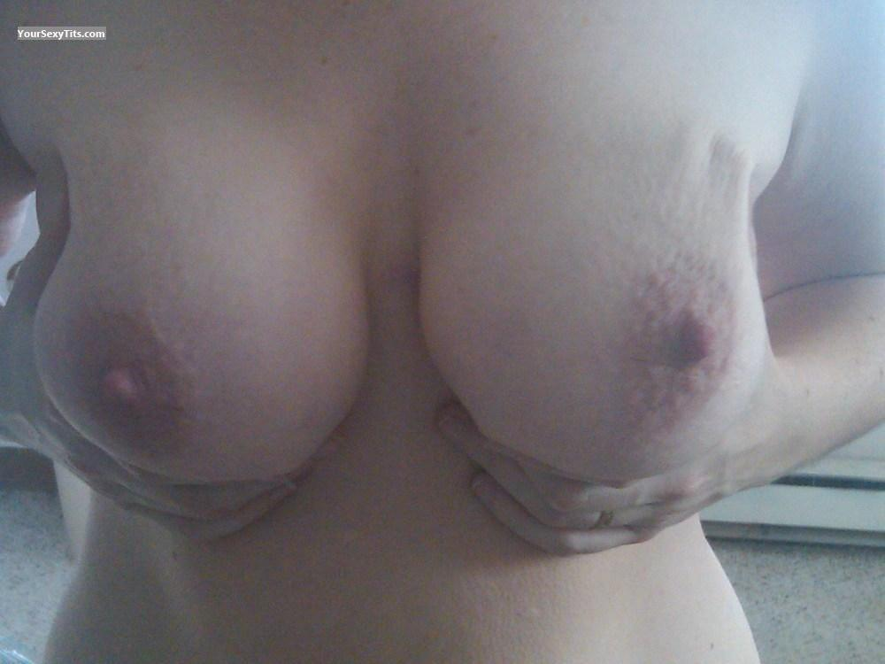 Tit Flash: Big Tits - Tina from United Kingdom