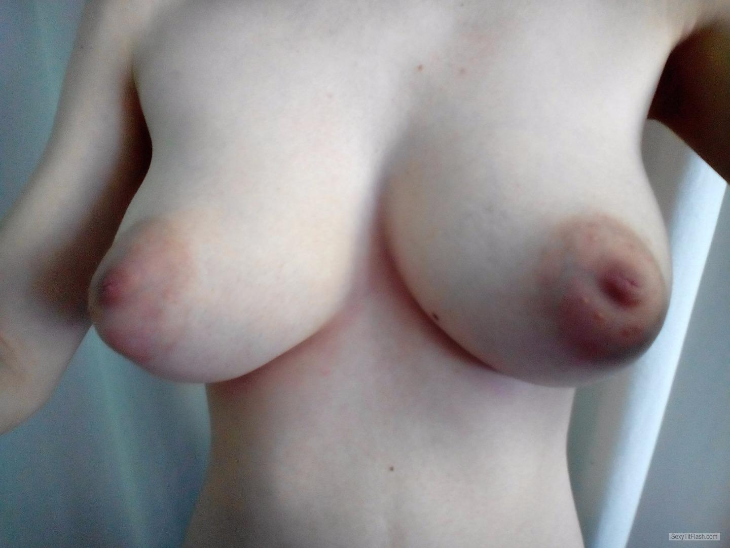 Tit Flash: My Big Tits - Hotsammy from United Kingdom