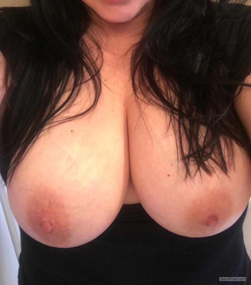 My Big Tits Topless Selfie by Shannon