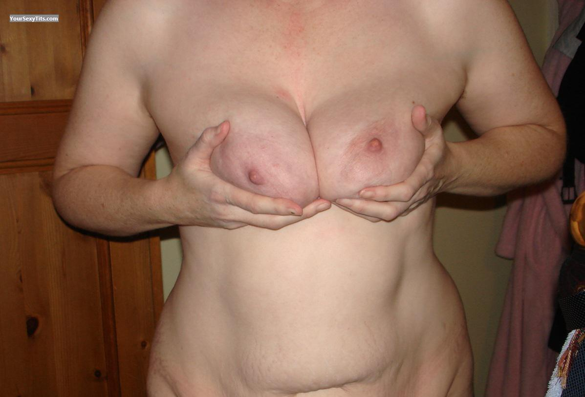 Tit Flash: Wife's Big Tits - Sbuk22 from United Kingdom