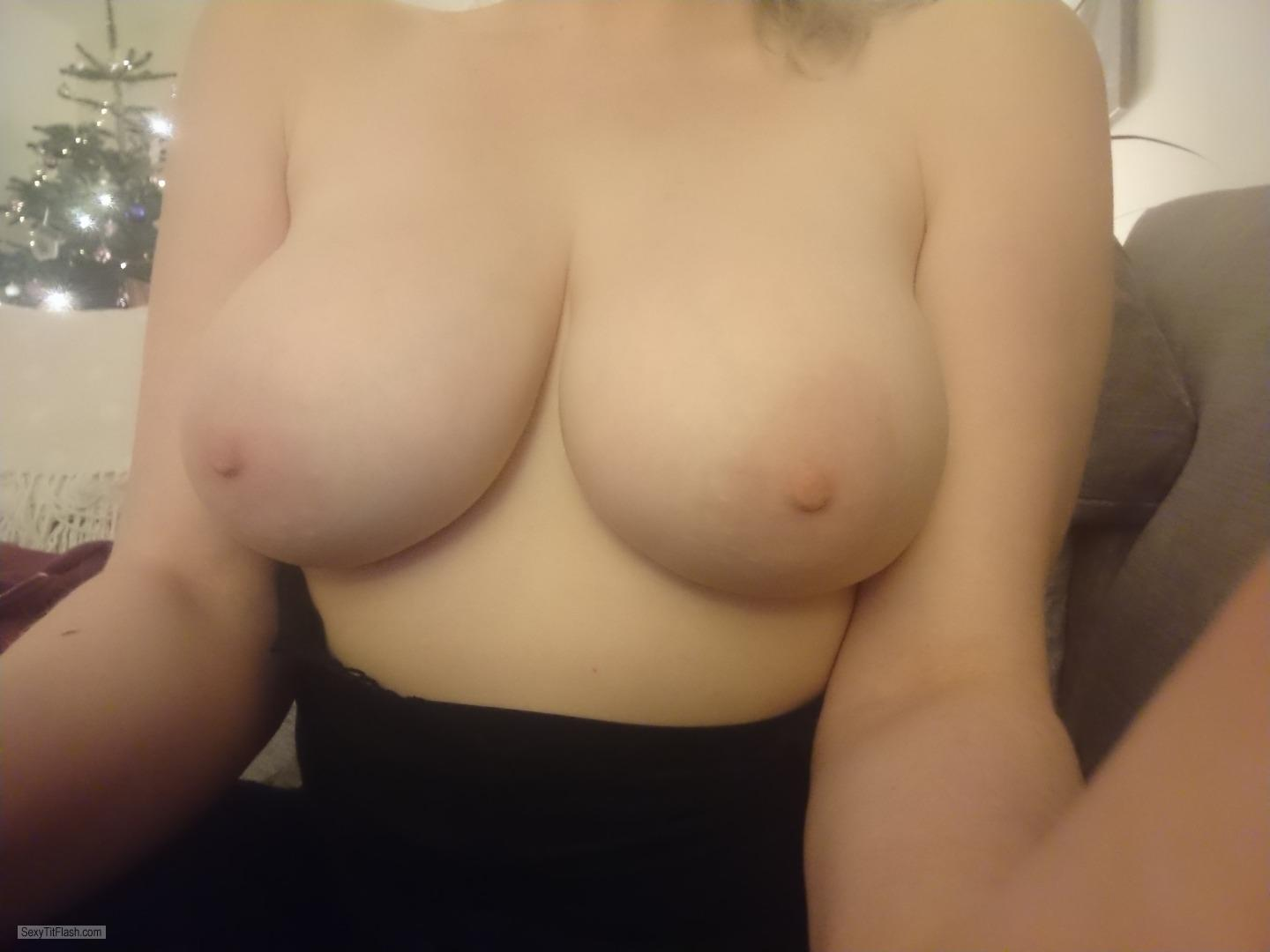 Tit Flash: My Big Tits - Titsfordays from United Kingdom