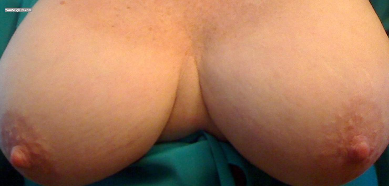 Tit Flash: My Big Tits (Selfie) - Nanc from United States