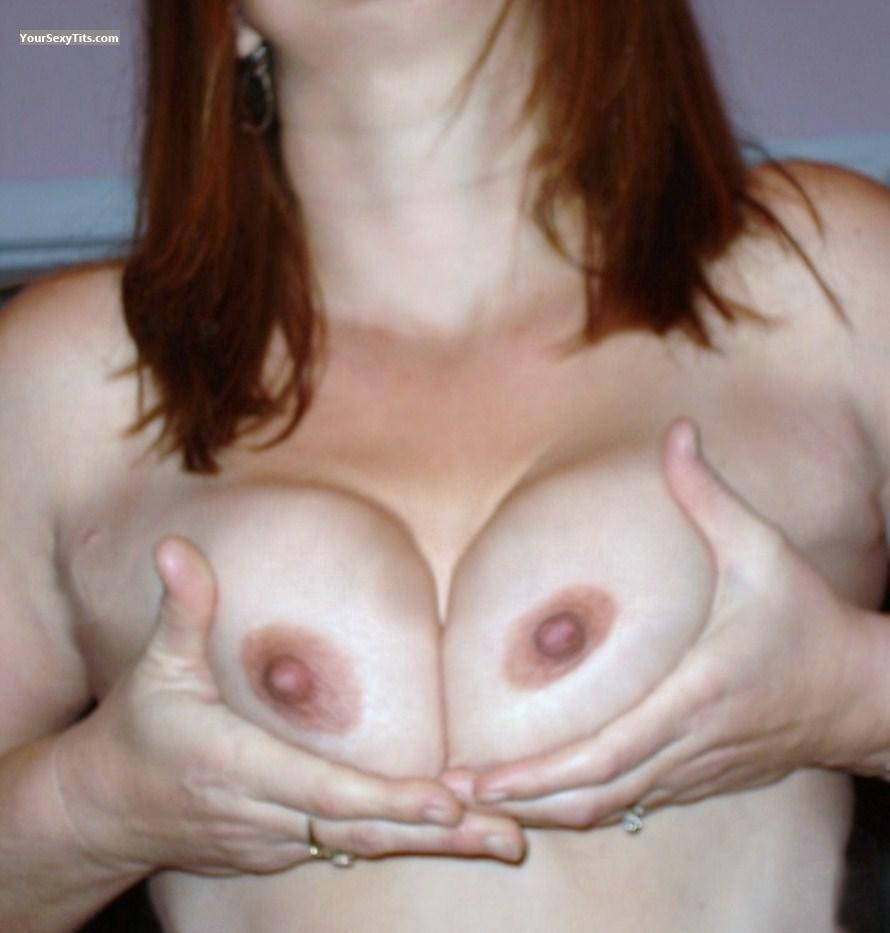 Tit Flash: Big Tits - Crystal L from United States