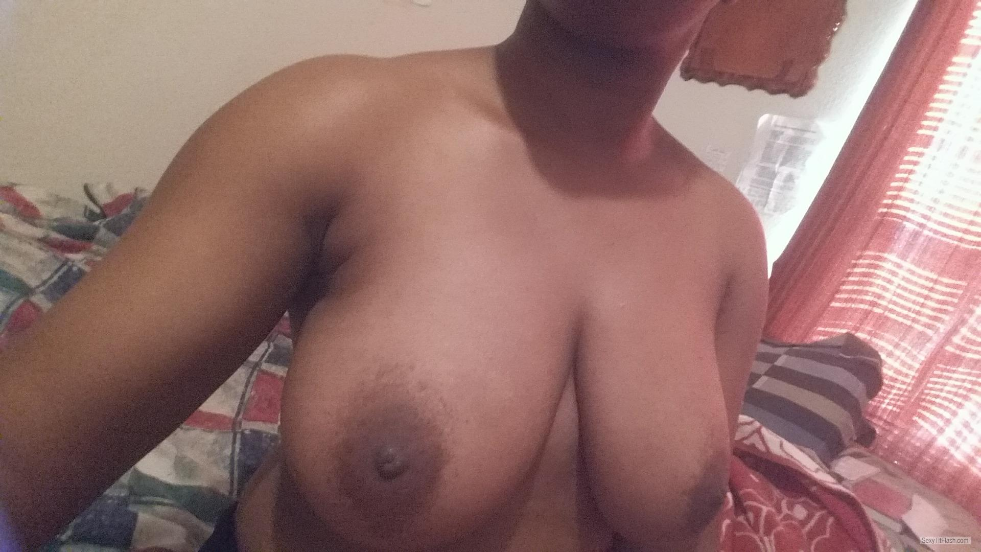 My Big Tits Selfie by Hot African
