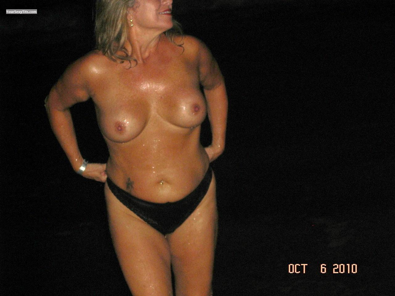 Tit Flash: Big Tits - Sweet Tink from United States
