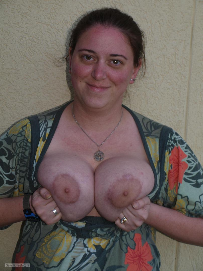Big Tits Of My Wife Topless Melissa
