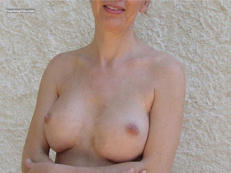 Tit Flash: My Friend's Big Tits - Miss Paris from France