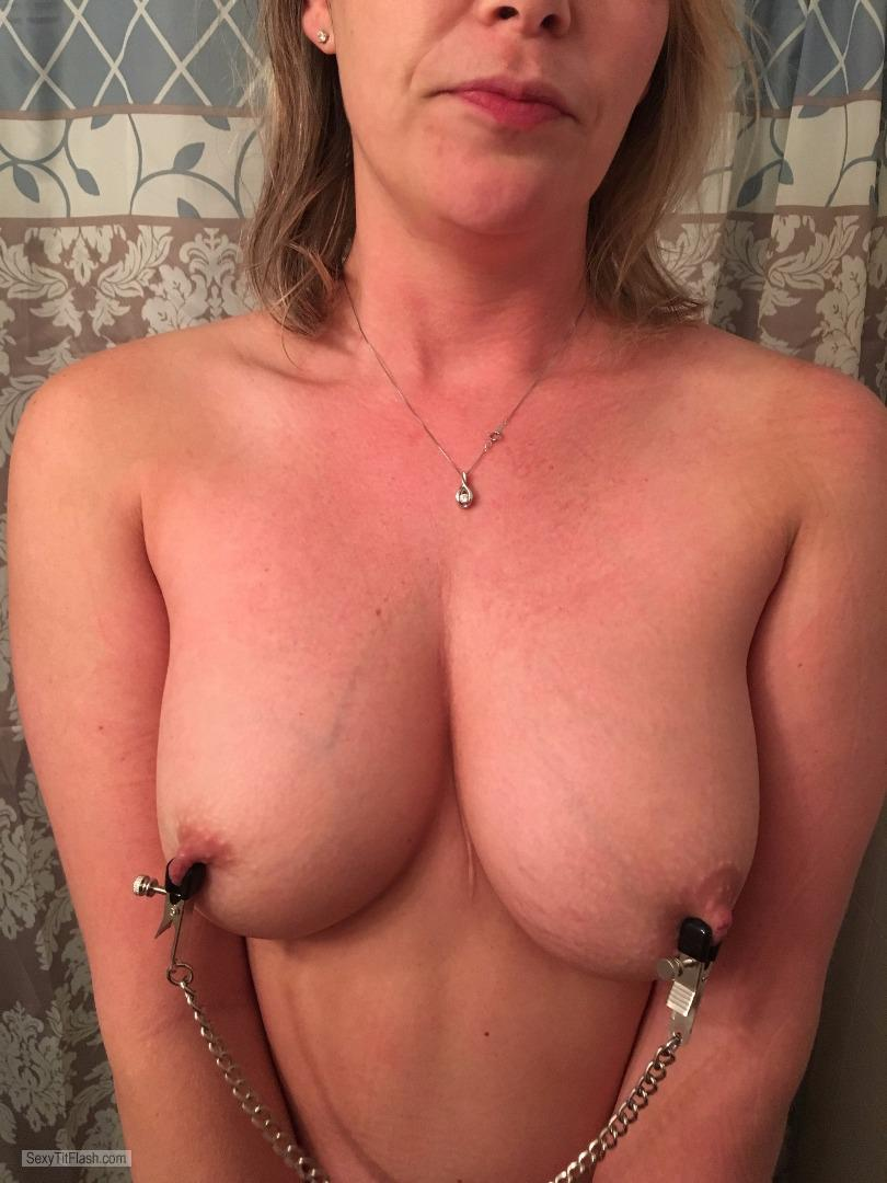 Big Tits Of My Wife Selfie by Sexy Chris