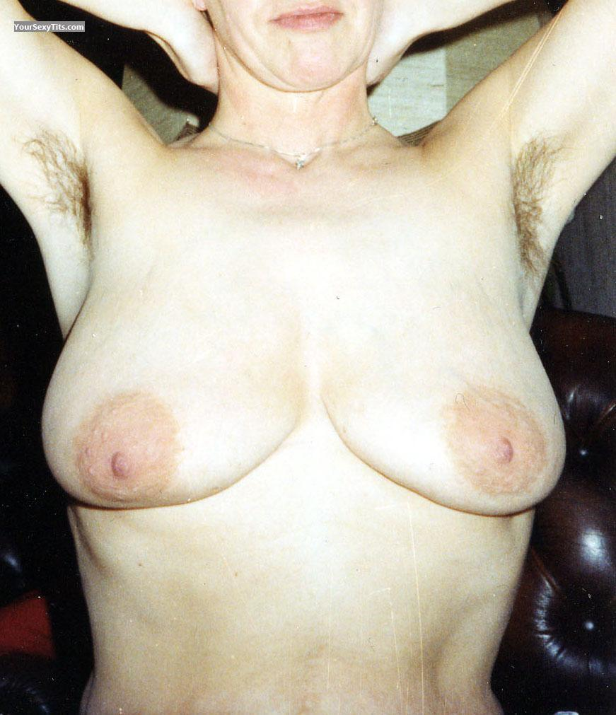 Tit Flash: Big Tits - Ines from Germany