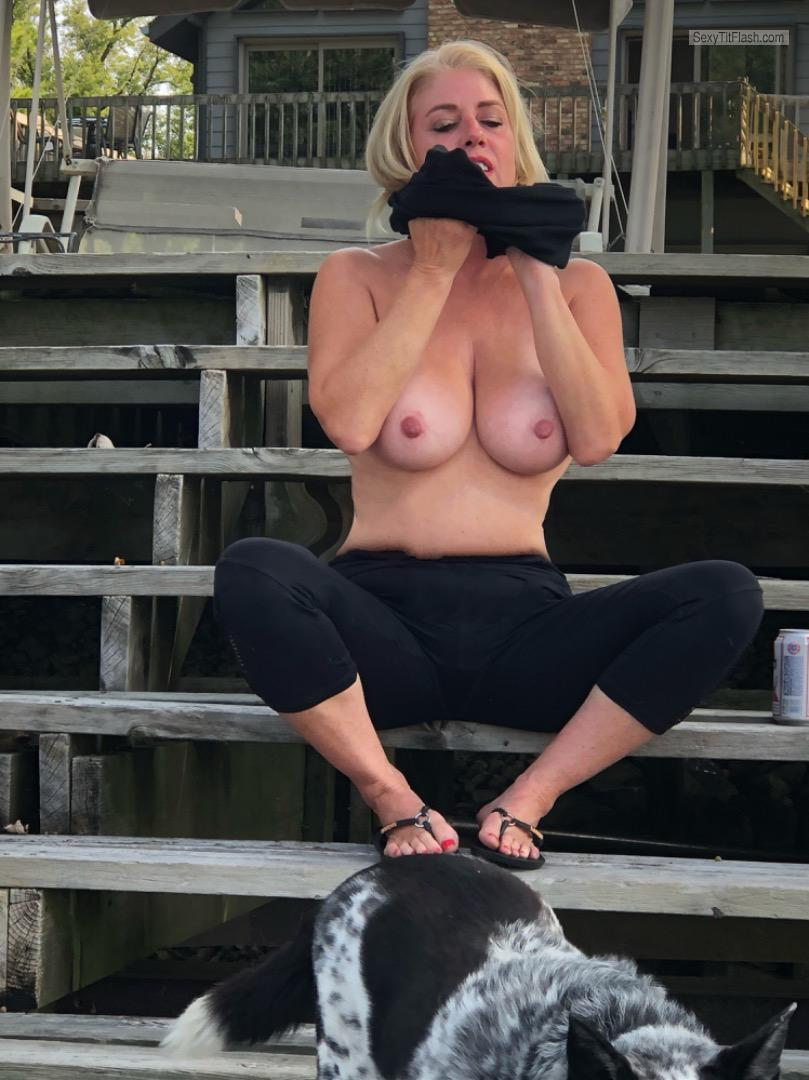 Big Tits Of My Girlfriend Topless Heavy Hitters