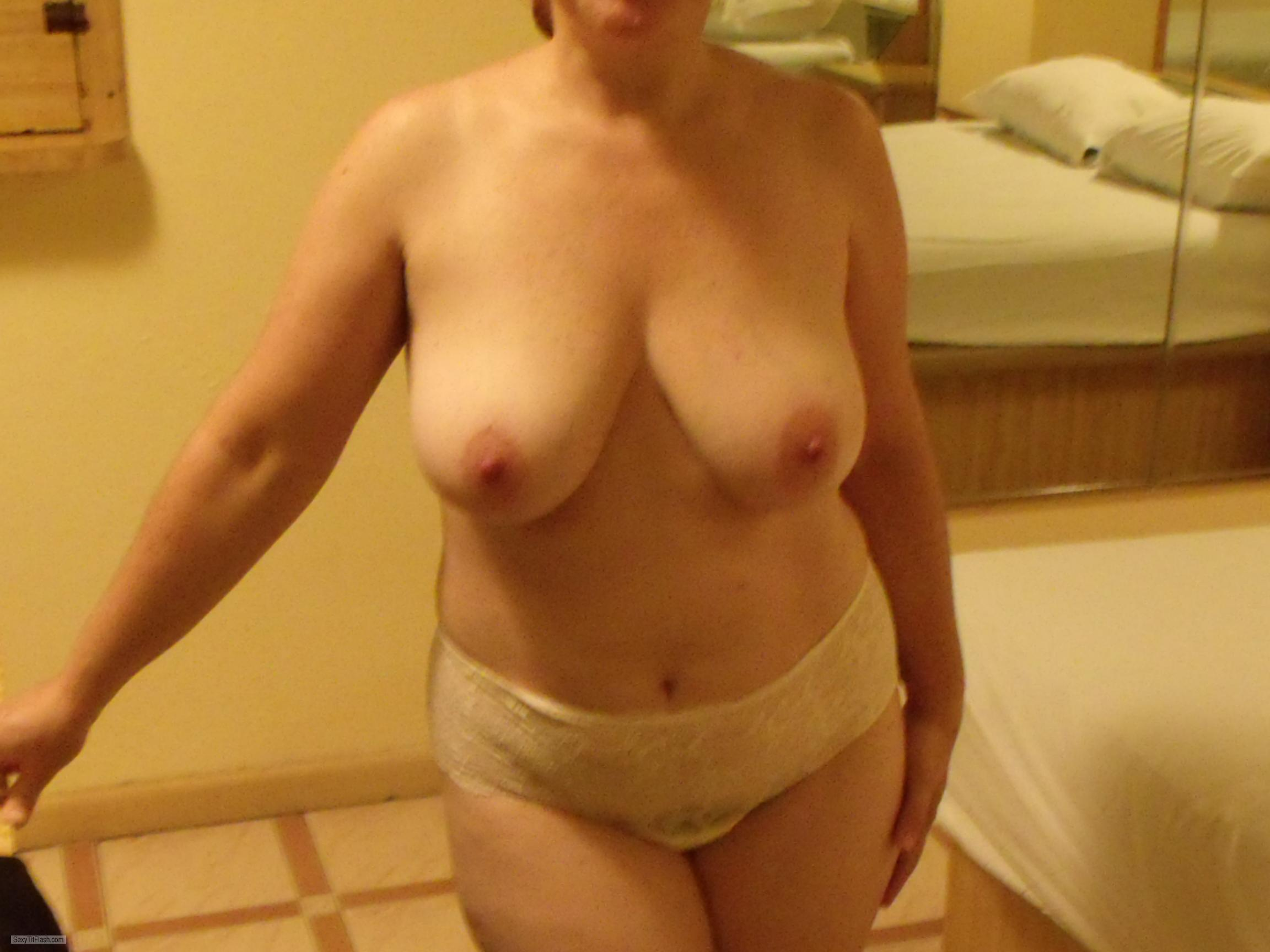 Tit Flash: My Coworker's Big Tits - Shory from United States