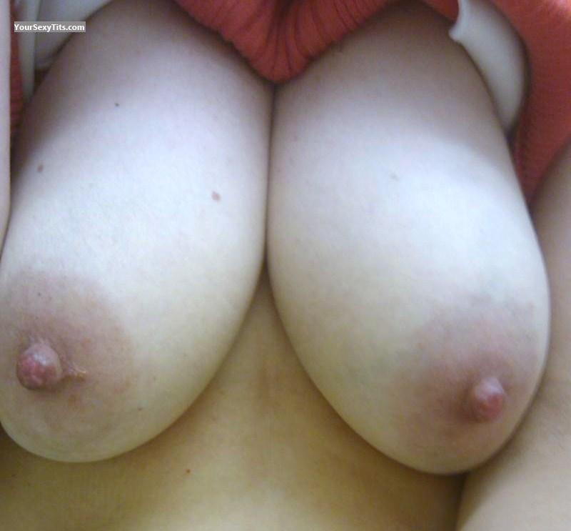 Tit Flash: My Big Tits (Selfie) - Bunny from United States