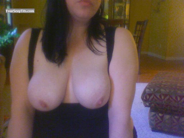 Tit Flash: My Big Tits (Selfie) - KimM from United States
