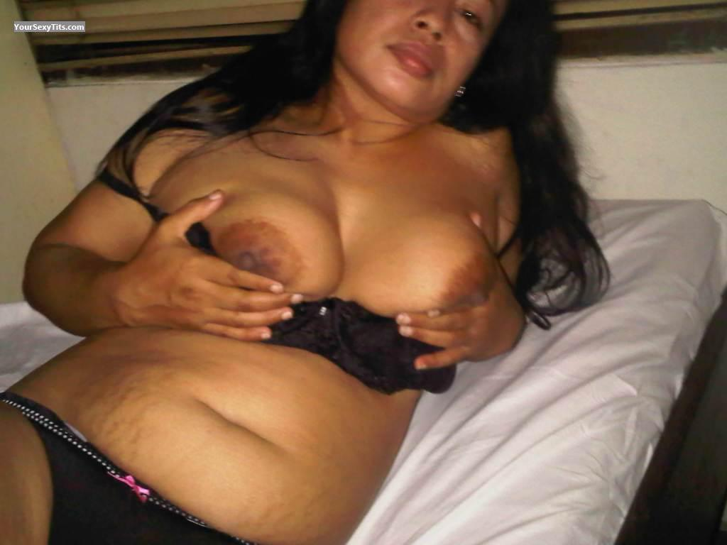 Tit Flash: Wife's Big Tits - Yuli from Malaysia