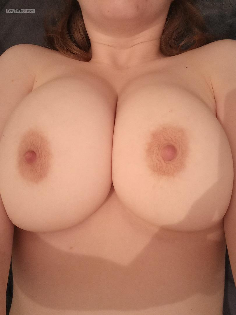 Tit Flash: My Big Tits (Selfie) - Polly from United Kingdom