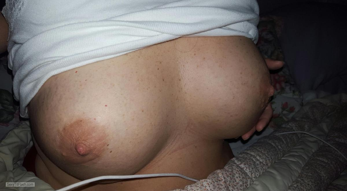 Tit Flash: My Big Tits (Selfie) - Seneca from United States
