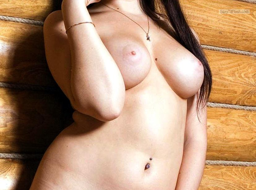 Tit Flash: My Small Tits - Emma from Germany