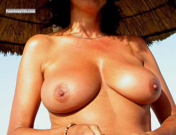 Tit Flash: Wife's Big Tits - Kate From Belgium from Belgium