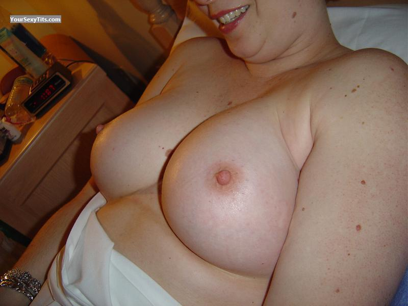 Tit Flash: Wife's Big Tits - Lisa K from United States