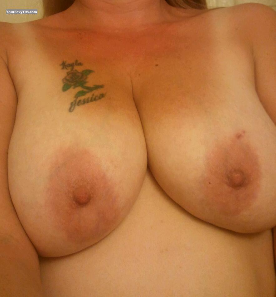 Big Tits Of My Wife Selfie by So Suckable