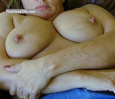 Tit Flash: Big Tits - Gail from United States