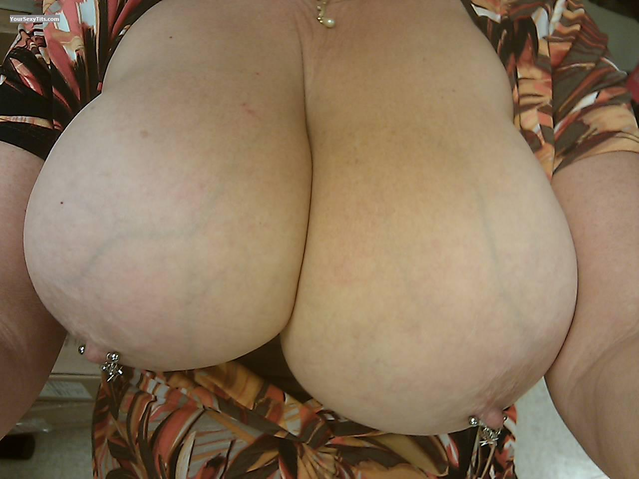 Tit Flash: Big Tits - PIX from United StatesPierced Nipples