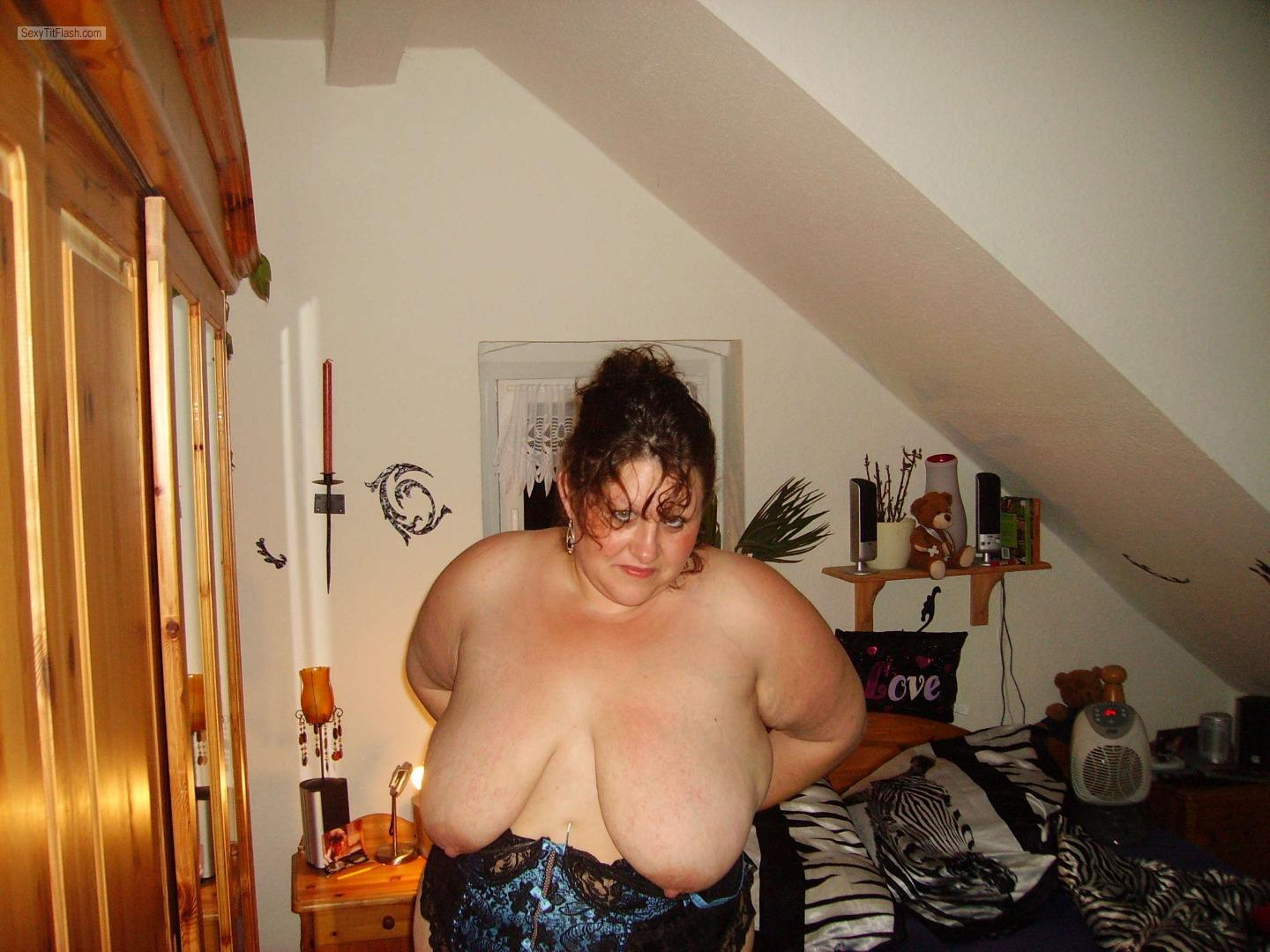 My Big Tits Topless Jannie