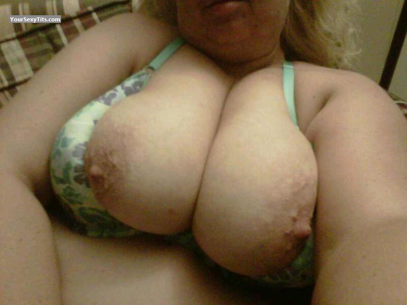 Tit Flash: My Big Tits (Selfie) - Yatzy from United States