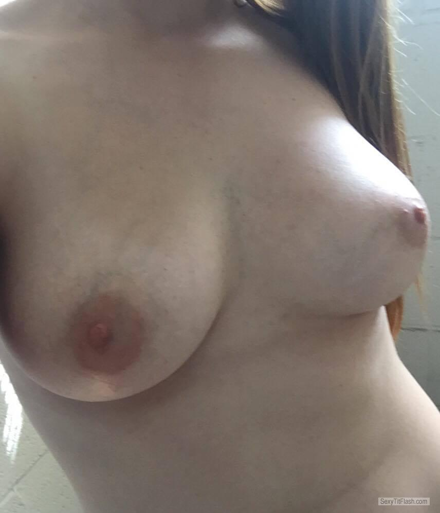 Big Tits Of A Friend Selfie by Emma