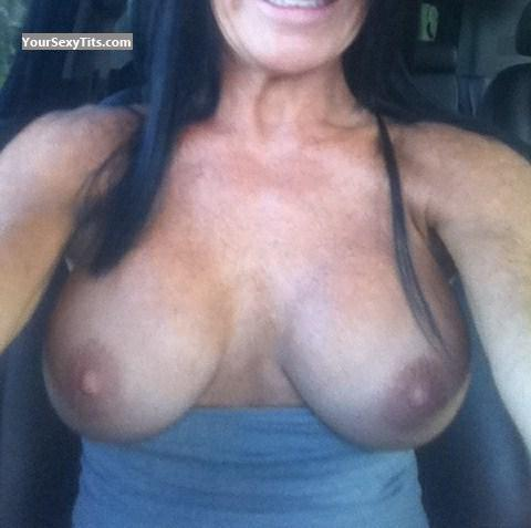 Tit Flash: My Big Tits (Selfie) - KW43 from United States