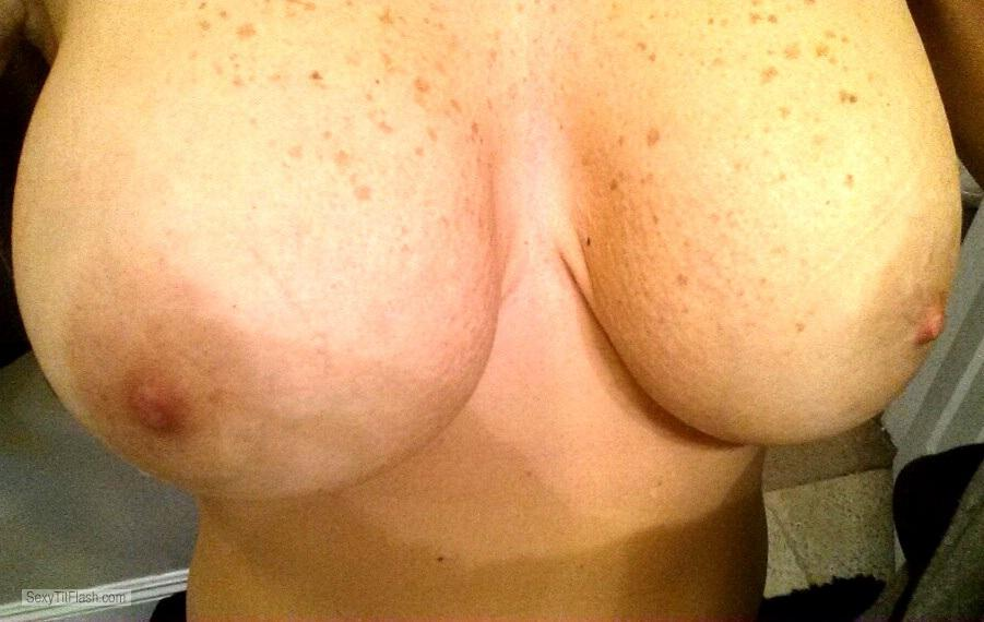 Big Tits Of My Wife Selfie by Lynn