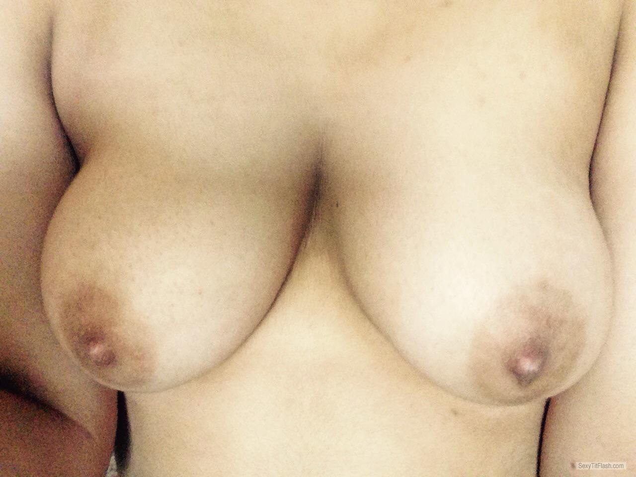 Tit Flash: My Big Tits - Hottie from United Kingdom
