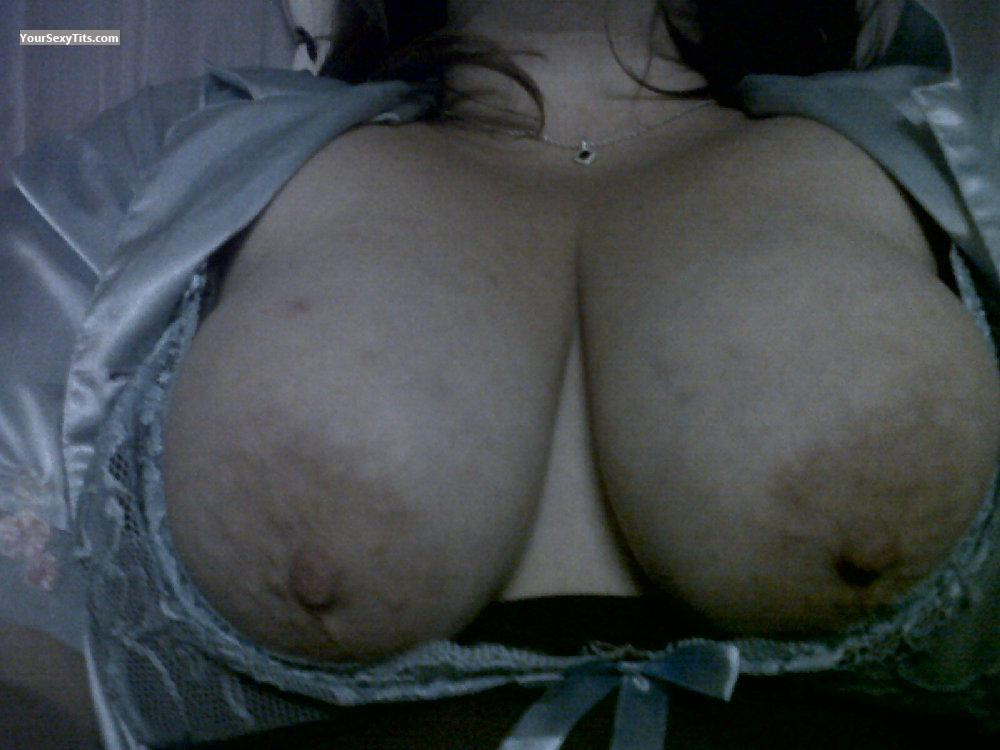 Tit Flash: My Big Tits (Selfie) - SweetJ from South Africa