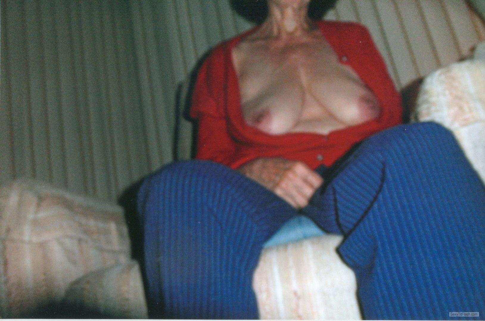 Tit Flash: Ex-Girlfriend's Big Tits - Annskee from United Kingdom
