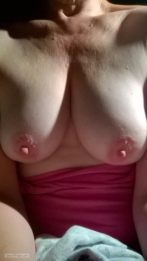 Tit Flash: My Big Tits (Selfie) - Lonely Boobs from United States