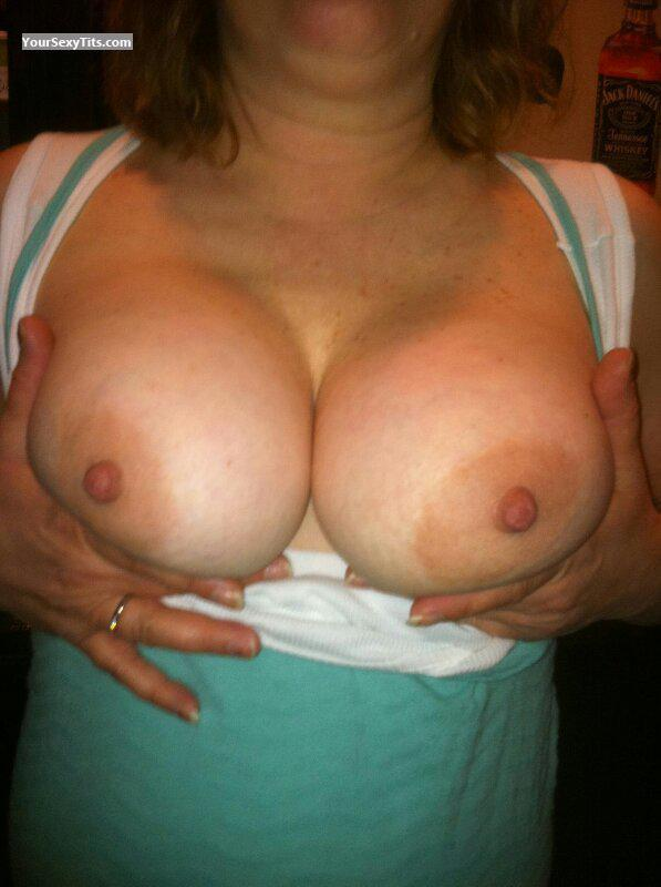 Tit Flash: My Friend's Big Tits - L.S from United States