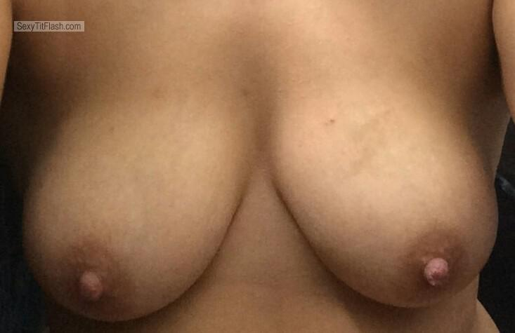 Tit Flash: My Big Tits (Selfie) - Hot Tits from United Kingdom
